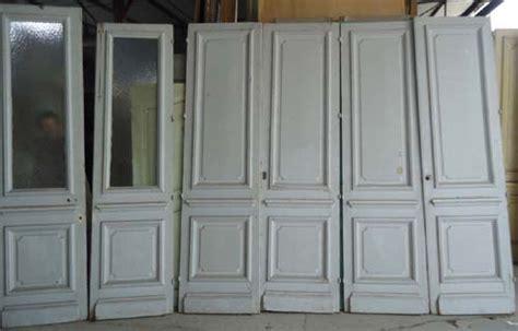 telematin cuisine paires de portes interieure en pin haussmannienne