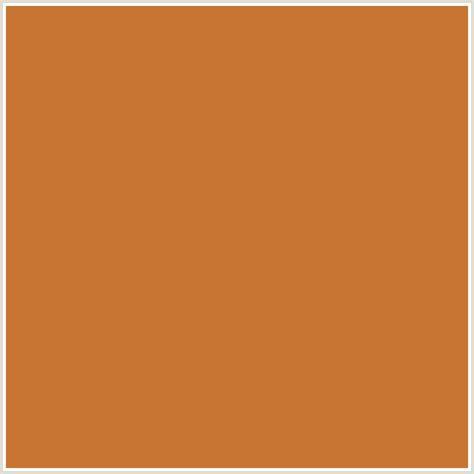 cooper color c87533 hex color rgb 200 117 51 copper orange