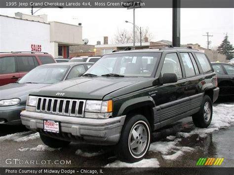 jeep grand cherokee tan moss green pearl 1995 jeep grand cherokee laredo 4x4