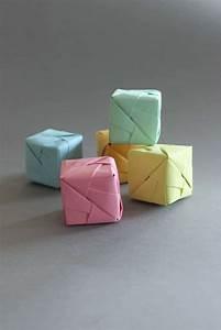 Origami Für Anfänger : diy origami cube sonobe style handmade kultur ~ A.2002-acura-tl-radio.info Haus und Dekorationen
