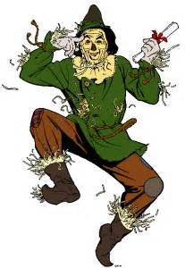 The Scarecrow the Wizard of Oz Cartoon Clip Art