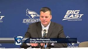 Creighton Men's Basketball vs. DePaul Press Conference ...