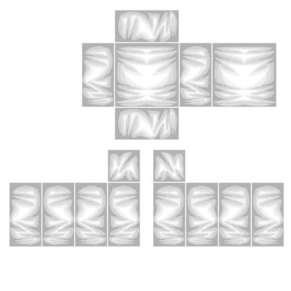 Roblox Shading Template Transparent Shirt Template For Roblox