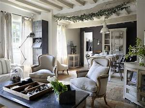 decoration maison style campagne chic With decoration maison campagne chic