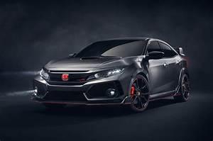 Honda Type R 2018 : 2018 honda civic type r prototype offers first look at us bound model news ~ Melissatoandfro.com Idées de Décoration