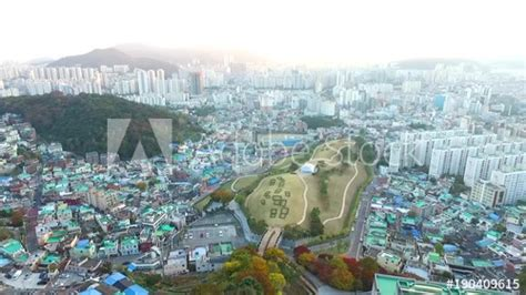 autumn  bokcheon ancient tomb museumbusansouth koreaasia  nov   stock