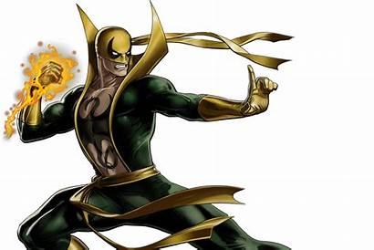 Fist Iron Marvel Netflix Fire Mortal Kombat