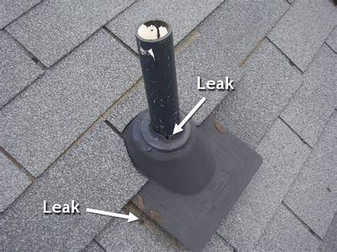 roof leaking around vent pipe leak how do i find where my roof is leaking home improvement stack exchange