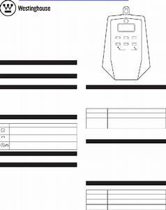 Westinghouse T28499 Timer Manual Pdf View  Download