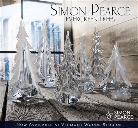 simon pierce glass cmas trees vermont woods studios american made solid wood furniture handmade custom crafted in vermont
