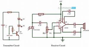 Simple Ir Audio Transmitter And Receiver Circuit