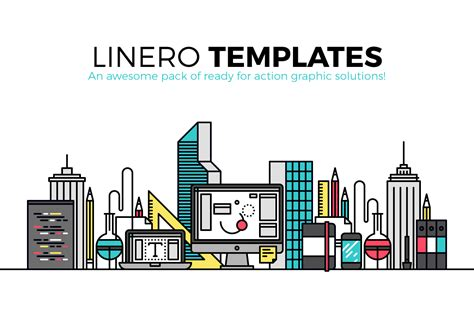 Caracteristicas Template by Linero Templates A Collection Of 50 Unique Graphics And