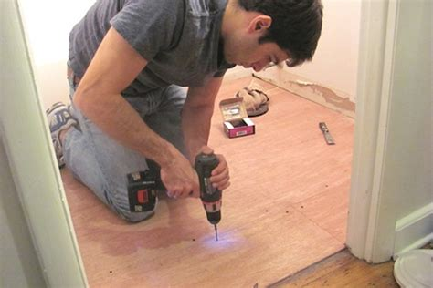 Underlayment For Vinyl Plank Flooring In Bathroom by How To Install Vinyl Plank Flooring Bob Vila