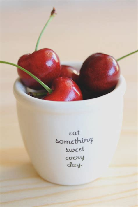 photography food quotes cherry feellng