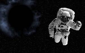 Astronaut and a black hole. by coughcool on DeviantArt