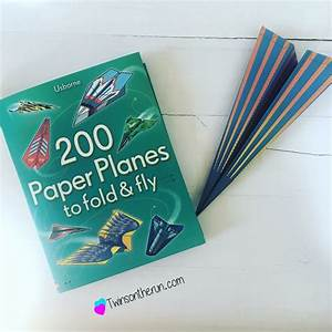 Get Outdoors And Have Some Flying Paper Airplanes  200