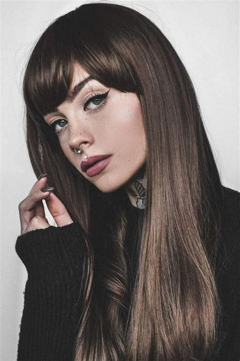 17 Gorgeous Long Hair with Side Bangs for 2019 Long hair