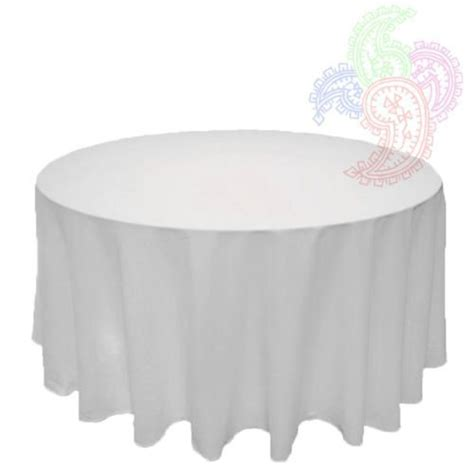 white round tablecloth linen banquet poly seamless table