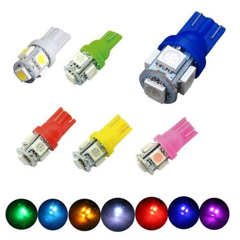 w5w t10 5050 5smd car led clearance light rear light bulbs