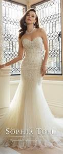 sophia tolli bridal collection for spring 2016 fashioncraze With sophia tolli wedding gowns