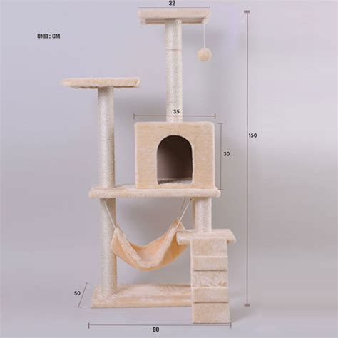 cat tree condo with hammock corner cat tree plans diy pictures to pin on