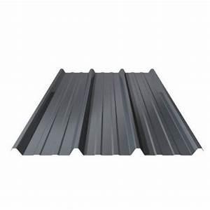 Tole Bac Acier Isolante : toiture t le bac acier bleu ardoise 1ml x 2ml multimat 76 ~ Melissatoandfro.com Idées de Décoration