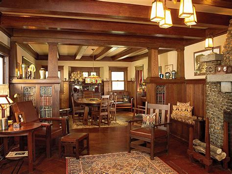 Arts And Crafts Home Interiors by Arts And Crafts Bungalow Homes Craftsman Bungalow Style