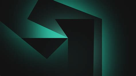 Abstract Black Background Design Hd by Wallpaper Geometric Shapes Background Black Green