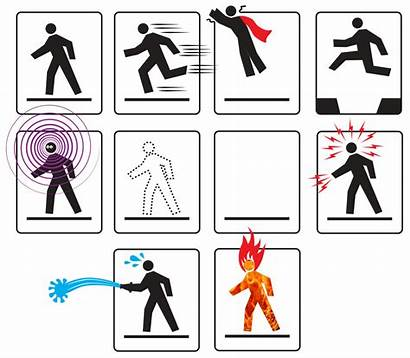 Superpowers Super Power Clipart Powers Superhero Could