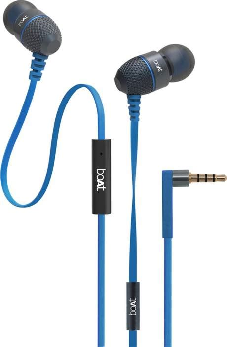 Boat Earphones by Boat Bassheads 220 Wired Headset With Mic Price In India