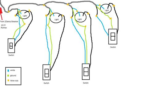 Electrical Would Lighting Diagram Work Home