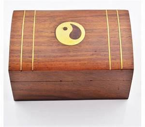Boite à Thé Bois : boite en bois d cor e de motifs de cuivre boites ananda ~ Teatrodelosmanantiales.com Idées de Décoration