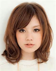 Asian Hairstyles for Medium Length Hair