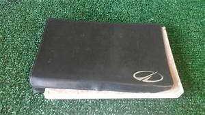 1998 Oldsmobile Intrigue Owners Manual Owner U0026 39 S Book Olds 591266