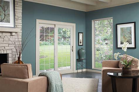 patio window treatments sliding doors home