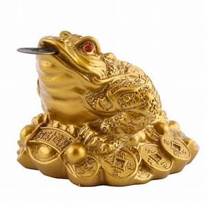 Feng Shui Frosch : online kaufen gro handel chinesische geld frosch aus china chinesische geld frosch gro h ndler ~ Sanjose-hotels-ca.com Haus und Dekorationen