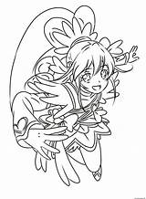 Glitter Force Coloring Pages Cure Heart Precure Printable Pretty Doki Entitlementtrap Drawing Popular Adult Template sketch template