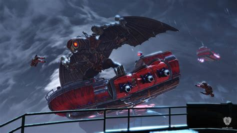 Songbird Bioshock Infinite Irrational Games