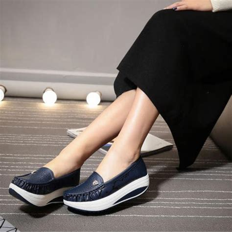 Sepatu Santai Emory sepatu emory highsole sh8855 slip on emory shoes shoes