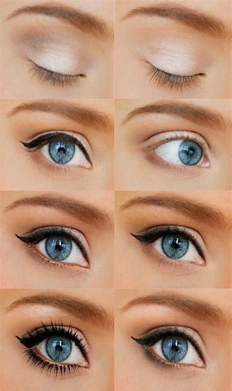 comment maquiller des yeux bleus 56 id 233 es comment r 233 ussir un maquillage yeux de biche