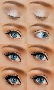 Maquillage Pour Yeux Marron : maquillage yeux en amande marron ~ Carolinahurricanesstore.com Idées de Décoration