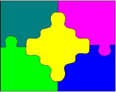 clipart  puzzle pieces clipground