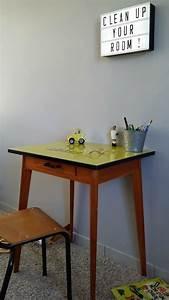 Petite Table Bureau : petite table bureau vintage ann es 50 be l ppi ~ Teatrodelosmanantiales.com Idées de Décoration