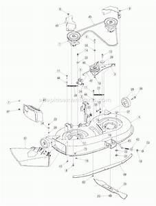 Bolens Riding Mower Parts Diagram