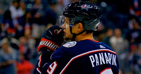 Artemi Panarin Contract Talks Stall In Blue Jackets Meeting
