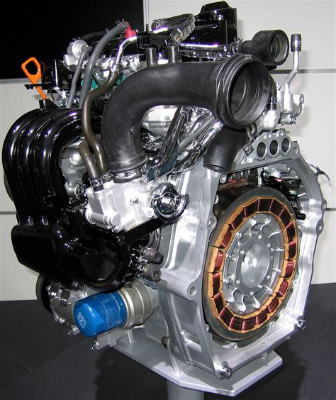 Hybrid Electric Motor by Integrated Motor Assist