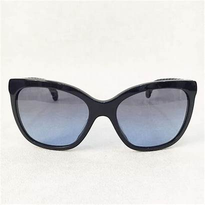 Sunglasses Chanel Leather Arms Garderobe Ae
