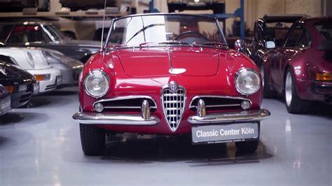 Classic Alfa Romeo For Sale by Classic Alfa Romeo Giulietta Spider 750 D For Sale
