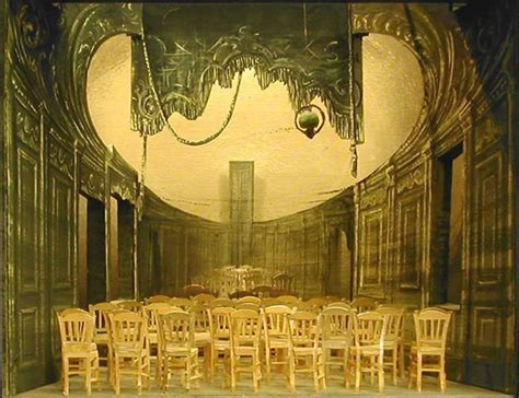 les chaises ionesco 1950s set design genres the list