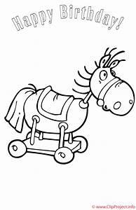Pferd Ausmalbild Kostenlos